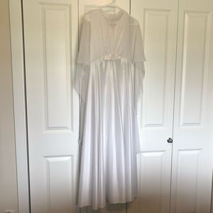 Vintage 70s wedding dress